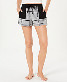Ande Burnout Check Pajama Shorts