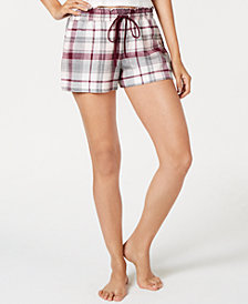 Jenni Cotton Printed Sleep Shorts, Created for Macy's