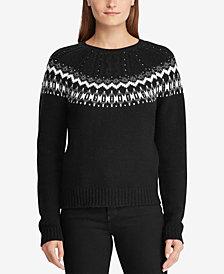 Lauren Ralph Lauren Patterned Sweater
