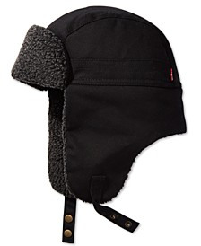 Men's Waxed Canvas Trapper Hat