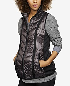 Maternity Quilted Puffer Vest