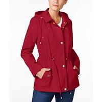 Charter Club Water-Resistant Hooded Anorak Jacket Deals