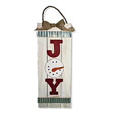 "National Tree 18"" Hanging Decor ""JOY"""
