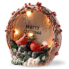 "National Tree 9"" Lighted Christmas Décor Piece"