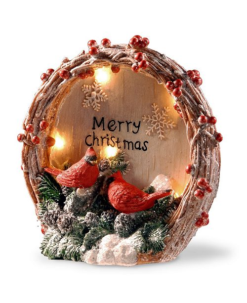 "National Tree Company National Tree 9"" Lighted Christmas Décor Piece"