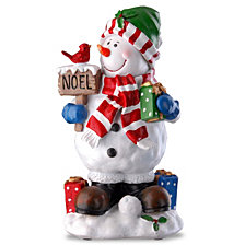 "National Tree 13"" Snowman Decoration"