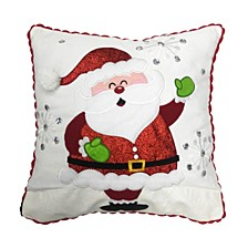 "16"" x 16"" Cushion with Santa Clause Design"