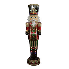 "National Tree Company 72"" Pre-Lit Animated & Music Playing Nutcracker Decoration"