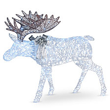 "National Tree Company 50"" Pre-lit Moose Decoration"