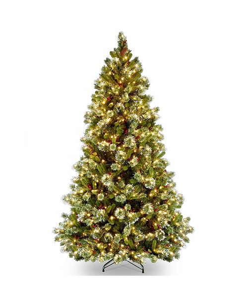 National Tree Company National Tree Wintry Pine With 650 Clear Lights