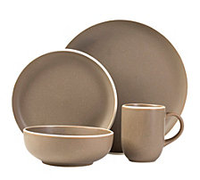 Sango Tailor Suede 16-Piece Dinnerware Set