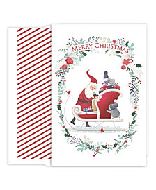 Masterpiece Studios Cute Santa Boxed Holiday Cards