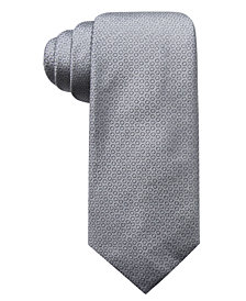 Alfani Men's Circle Dot Slim Silk Tie, Created for Macy's
