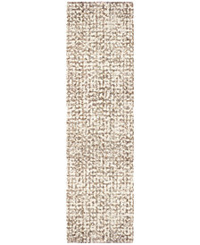 "Orian Cotton Tail Ditto White 2'3"" x 8' Runner Area Rug"