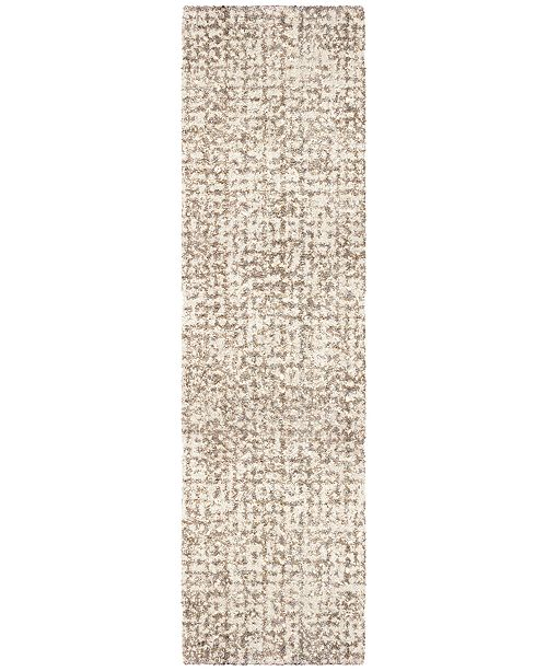 "Jennifer Adams Home Jennifer Adams  Cotton Tail Ditto White 2'3"" x 8' Runner Area Rug"