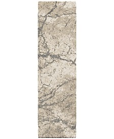 "Palmetto Living Carolina Wild Marquina Natural 2'3"" x 8' Runner Area Rug"