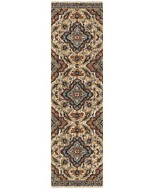 "Orian Next Generation Wada Off White 2'3"" x 8' Runner Area Rug"