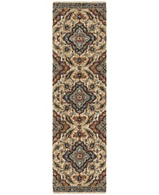 "Palmetto Living Next Generation Wada Off White 2'3"" x 8' Runner Area Rug"