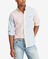 490a2f5f9e625 Polo Ralph Lauren Mens Casual Button Down Shirts   Sports Shirts ...