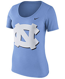 Nike Women's North Carolina Tar Heels Dri-Blend Scoop T-Shirt
