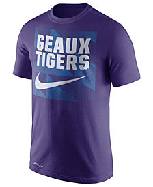 Nike Men's LSU Tigers Dri-FIT Fluid Force Mantra T-Shirt