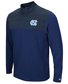 Colosseum Men's North Carolina Tar Heels Quarter-Zip Windshirt