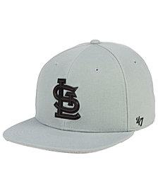 '47 Brand St. Louis Cardinals Gray Snapback Cap