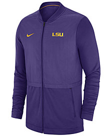 Nike Men's LSU Tigers Elite Hybrid Full-Zip Jacket