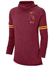 Nike Women's Iowa State Cyclones Funnel Neck Long Sleeve T-Shirt