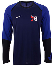 Nike Men's Philadelphia 76ers Dry Long Sleeve Top