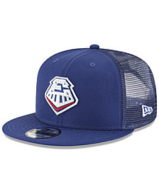 New Era Round Rock Express Trucker 9FIFTY Snapback Cap