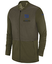 Nike Men's New York Giants Salute To Service Elite Hybrid Jacket