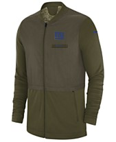 08367312d5e Nike Men s New York Giants Salute To Service Elite Hybrid Jacket