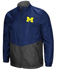 Colosseum Men's Michigan Wolverines Halfback Option Reversible Full-Zip Jacket