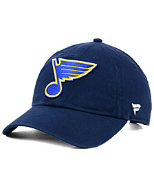 Authentic NHL Headwear St. Louis Blues Fan Relaxed Adjustable Strapback Cap