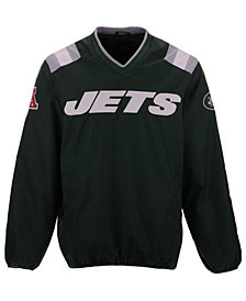 G-III Sports Men's New York Jets Countback Pullover Jacket