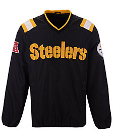 G-III Sports Men's Pittsburgh Steelers Countback Pullover Jacket