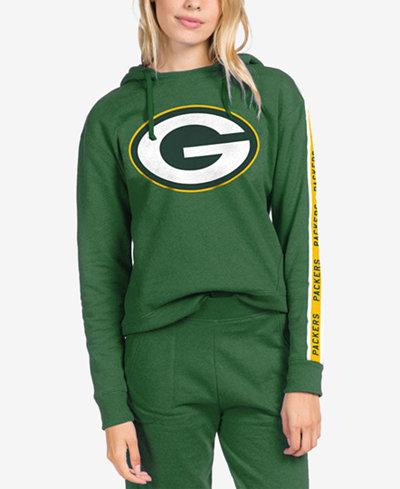 Authentic NFL Apparel Women's Green Bay Packers Liberty Fleece Hoodie