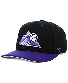 '47 Brand Colorado Rockies 2 Tone MVP Cap