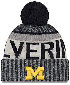 New Era Michigan Wolverines Sport Knit Hat