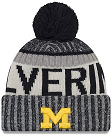 New Era Michigan Wolverines Sport Knit Hat
