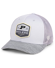 Top of the World Purdue Boilermakers Hyjak Mesh Flex Stretch Fitted Cap