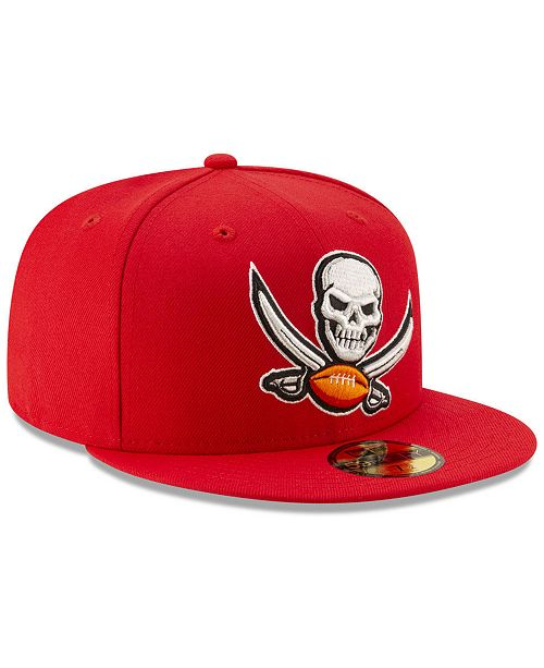 dacf93871ee ... New Era Tampa Bay Buccaneers Logo Elements Collection 59FIFTY FITTED Cap  ...