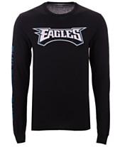 Authentic NFL Apparel Men s Philadelphia Eagles Streak Route Long Sleeve T- Shirt 5c4fd9ab5
