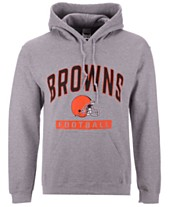 f56a68510e2 Authentic NFL Apparel Men s Cleveland Browns Gym Class Hoodie