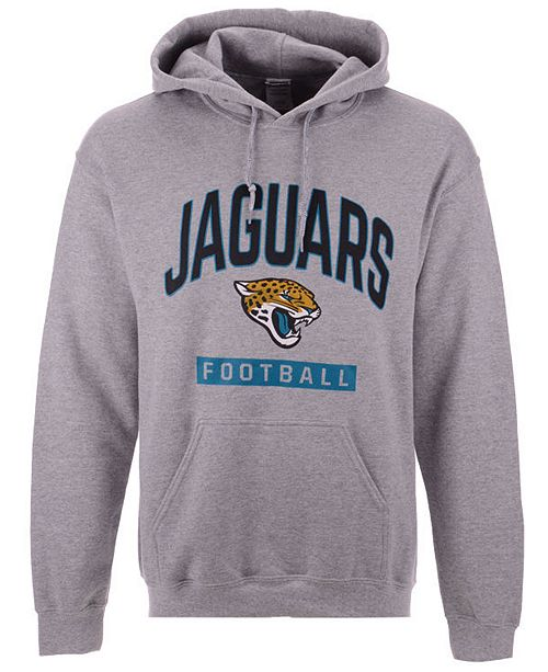 Authentic NFL Apparel Men's Jacksonville Jaguars Gym Class Hoodie