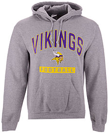 Authentic NFL Apparel Men's Minnesota Vikings Gym Class Hoodie