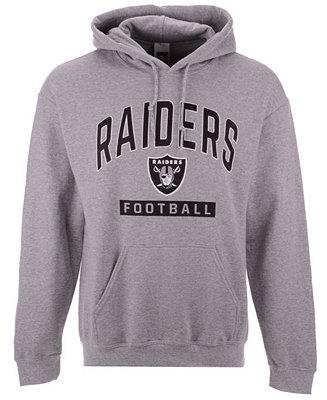 9b6f0fe43 Authentic NFL Apparel Men s Oakland Raiders Gym Class Hoodie - Sports Fan  Shop By Lids - Men - Macy s