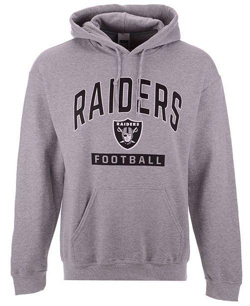 Authentic NFL Apparel Men's Oakland Raiders Gym Class Hoodie  supplier