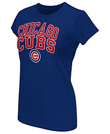 G-III Sports Women's Chicago Cubs Endzone T-Shirt